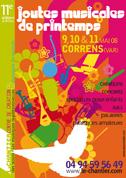 Affiche Joutes musicales 2008 - par Max Minniti