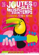 Affiche Joutes musicales 2013 - par Max Minniti