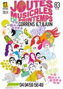 Affiche Joutes musicales 2014 - par Max Minniti
