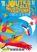 Affiche Joutes musicales 2015 - par Max Minniti