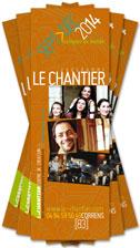 Programme du Chantier - Centre de création - Sept > Déc 2014