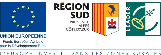 logo Union Européenne / Région Sud PACA / LEADER