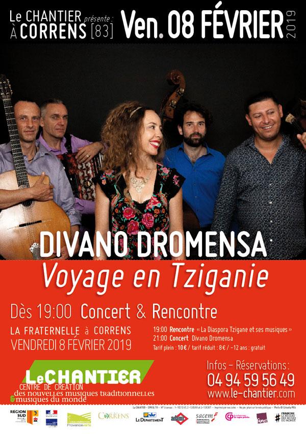 Divano Dromensa - Voyage en Tziganie - Affiche