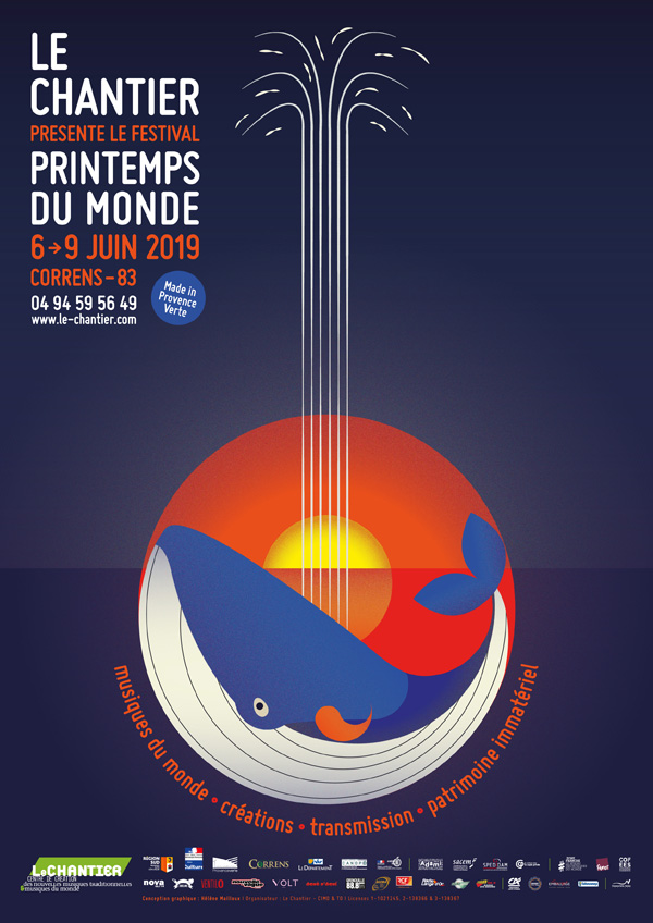 Le Chantier présente le festival Les Printemps du monde, du 6 au 9 juin 2019 à Correns (83-Provence Verte)