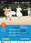 Equinòxis 5.2 : Rencontres autour de la voix. Article 9 invite Le Plisson - 20-21-22 sept 2013