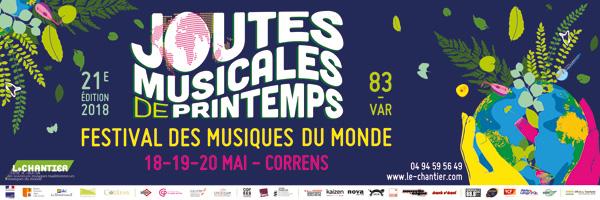 21e Joutes musicales de printemps : 18-19-20 mai à Correns - Provence Verte - Région Sud Provence-Alpes-Côte d'Azur
