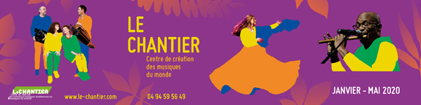 Le Chantier - Saison de concerts Janv-Mai 2020