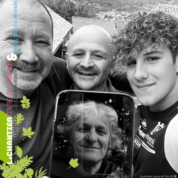 Réserver pour: Quartetto Lampi et Tron