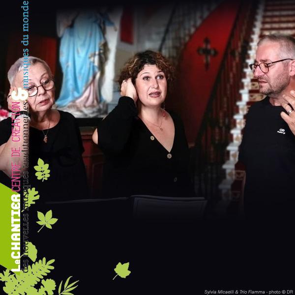 Réserver pour: Sylvia Micaelli et Trio Fiamma