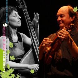 « LE VIOLON, DU TRADITIONNEL AU CONTEMPORAIN » Masterclass avec Jacky Molard et Hélène Labarrière