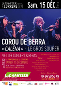 Corou de Berra - Caléna - Veillée, Concert, Repas «Le Gros Souper» - 15 déc 2018