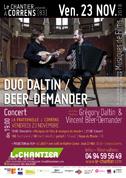 Duo Daltin/Beer-Demander - Résidence au Chantier, Concert, Atelier vocal