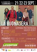La Buonasera - Résidence au Chantier, Concert, Atelier vocal