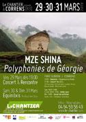 Mze Shina - Polyphonies Géorgiennes - création au Chantier