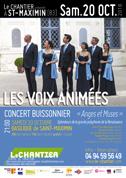 Les Voix Animées «Anges et Muses» - Concert buissonnier du Chantier à la Basilique de Saint-Maximin